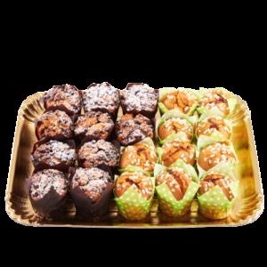 Muffin albicocca e gocce di cioccolato
